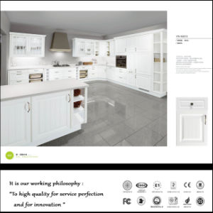 White Cabinet Doors for Kitchen Hot Press (ZHUV) pictures & photos