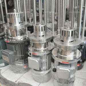 Stainless Steel Oil and Water Bottom Emulsifier Mixer pictures & photos