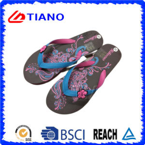 2017 Fashion Women EVA Beach Flip Flop (TNK35309) pictures & photos