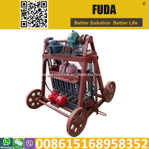 Movable Brick Making Machine Qmy4-45 pictures & photos