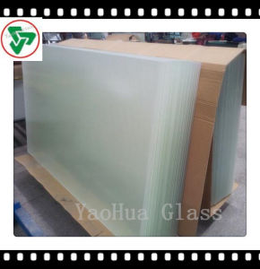 3.2-4mm Tempered Sheet Glass Ultra/Extra Clear Mistlite Solar Glass pictures & photos