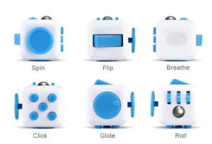 Best Quality Relieves Stress Anxiety Attention Desk Game Fidget Cube pictures & photos