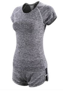 Women′s Sports Yoga Clothes/ Womens T Shirt pictures & photos