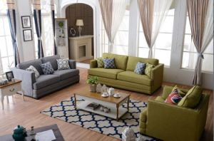 Leisure Fabric Sofa with Modern Sofa Design Chesterfield Sofa for Living Room Furniture pictures & photos