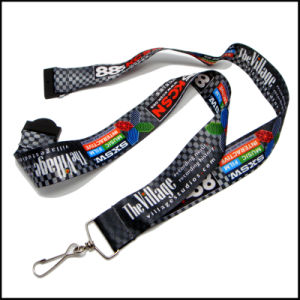 Heat-Transfered Printing Camouflage Color Custom Logo Neck Strap Lanyards pictures & photos