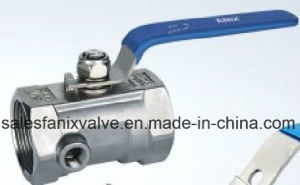 1PC Ball Valve with Test Hole