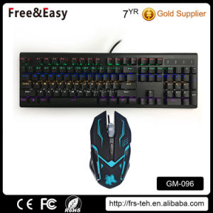 Mechanical Gaming Keyboard Mouse Combo pictures & photos