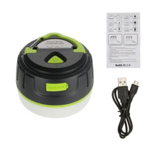 2017 Trending Products Rechargeable Camping Lantern with Super Magnet Power Bank pictures & photos
