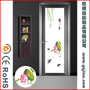 Non-Adhesive Static PVC Tempered Glass Protective Film Window pictures & photos