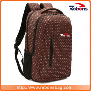 New Items Spotted Allover Printing Pattern Cute Laptop Bag with Two Big Main Zipper Compartments to Packing pictures & photos
