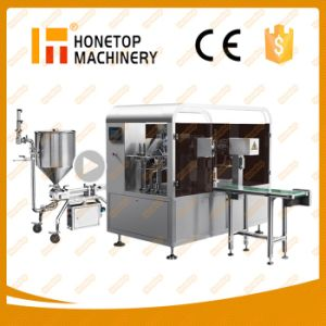 Full Automatic Paste Filling Machine pictures & photos