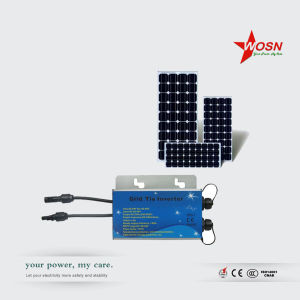 IP65 Wmvc 250W 20-40V to 220V Grid Tie Solar Micro Inverter pictures & photos