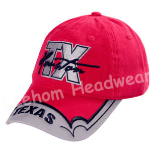 Classic Constructed Embroidery Distressed Baseball Cap pictures & photos