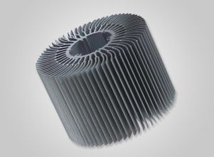6063 Extruded/Extrusion Aluminum/Aluminium Heat Sink pictures & photos