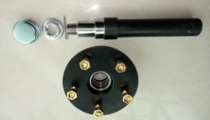 Half Straight Torsion Axle From Utility Trailer pictures & photos