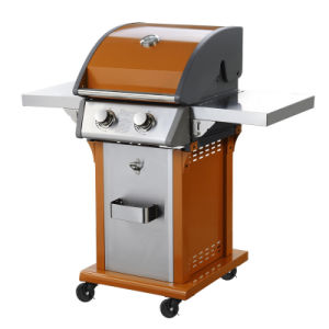 United Professional 2 Burner Gas BBQ Grill for Sale pictures & photos