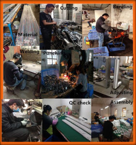 China Stainless Steel Door Handle on Plate pictures & photos