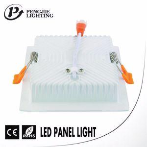 Die Casting ADC12 Aluminum 16W LED Backlit Panel Light Housing (Square) pictures & photos