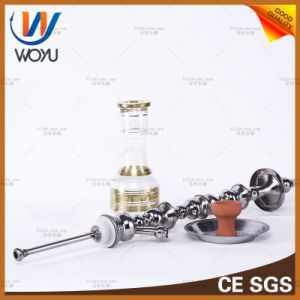 Shock Wave Stainless Steel Shisha Hookah Charcoal Water Pipe Smoking Tobacco pictures & photos