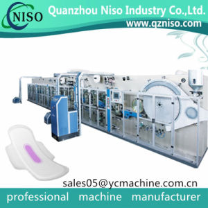 Ultra Thin Regular Sanitary Napkin Pads with Wings Machine Manufacture pictures & photos
