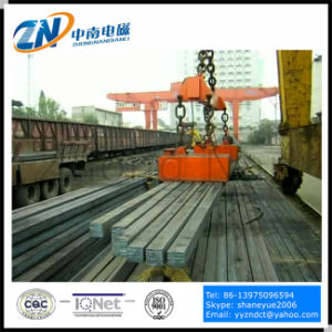 Rectangular Lifting Electromagnet for High Temperature Steel Billet MW22-9065L/2 pictures & photos