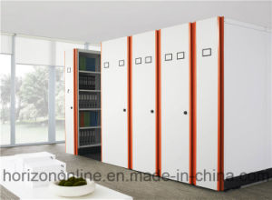 Moveable Metal Filing Cabinet with U Shape Aluminium Handle