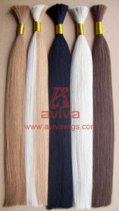 Cuticle Remy Human Hair Bulk pictures & photos