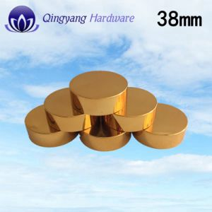 38mm Shiny Golden Plastic UV Caps for 150ml Pet Bottle pictures & photos