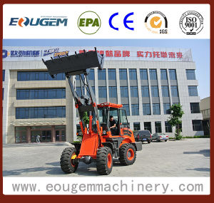 Eougem 2ton Small Wheel Loader Zl20 pictures & photos