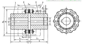 Chinese Supplier Roller Chain Coupling pictures & photos