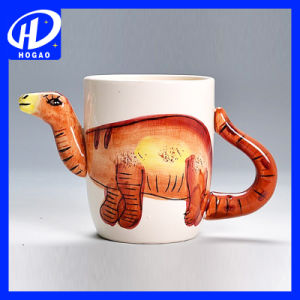 Hand-Painted 3D Animal Frog Cartoon Handle Mug Cup Milk Tea Ceramic Coffee Mug pictures & photos