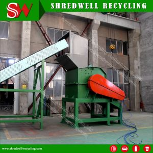 Shredwell New Arrival Heavy Duty Waste Car Shredder for Scrap Metal Recycling in Big Capacity pictures & photos