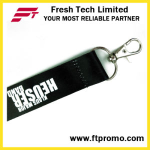 Promotional Gift Polyester Lanyard with Logo pictures & photos