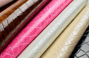 PVC Synthetic Leather (Z55#) for Furniture pictures & photos