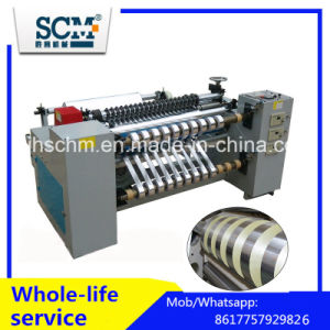 Jumbo Roll BOPP, PVC, Pet, PE Roll Slitter Rewinder Machine