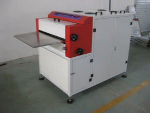 Zx-650 Paper UV Coating Machine pictures & photos