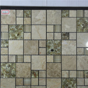Good Quilty Cheap Price Tile Form Foshan Mosaic Factory Swimming Pool Tiles and Decorative Wall Crystal Glass Mosaic pictures & photos