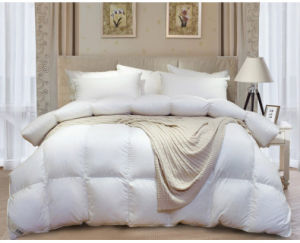 233 Tc Solid Cover 90% White Duck Down Comforter