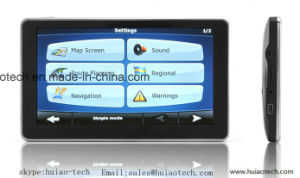 """Factory Sale 5.0"""" Capactitive Mulit-Touch Car GPS Navigation with Quad Core Android 5.1 Tablet PCS; Google Map, Bluetoothh, FM Transmitter; ISDB TV G-5005A pictures & photos"""