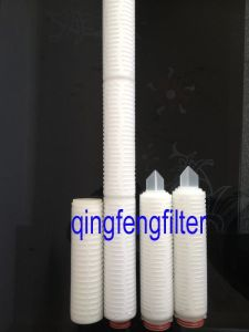 0.22/0.45 Micron Nylon Pleated Filter Cartridge for Pure Water Filtration pictures & photos