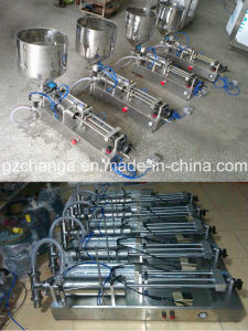 Semiauto Pneumatic Shampoo Filler pictures & photos