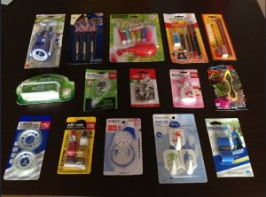 Toys/Toothbrush Auto Sealing Papercard and PVC Packing Blister Machine pictures & photos
