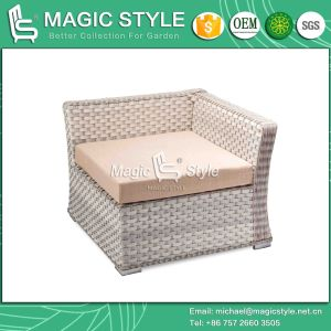 "Wicker Corner Sofa Set ""L"" Rattan Sofa Set (Magic Style) pictures & photos"