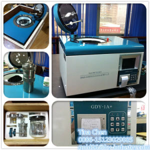 Gdy-1A Coal and Coke Gross Calorific Value Testing Bomb Calorimeter pictures & photos