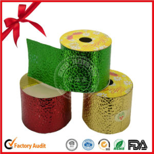 Embossed Stone Pattern PP Material Ribbon Roll pictures & photos
