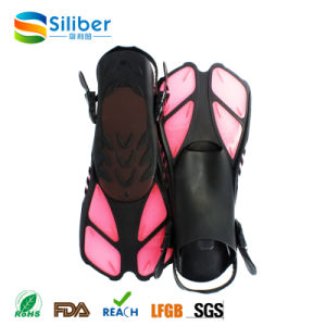 Free Diving Fins Open Heel Swimming Flipper pictures & photos