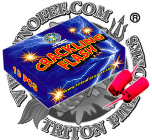 Crackling Flash Fireworks Firecrackers pictures & photos