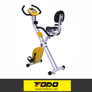 New Indoor Crane Sports Foldable Magnetic Exercise Bike with Twister pictures & photos