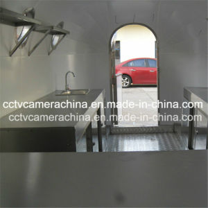 Professional Design Stainless Steel Mobile Fast Food Carts (SHJ-MBT4000) pictures & photos
