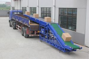 Loading and Unloading Conveyer Easy Moving Load-Bearing 100kg/M Belt 50-100cm pictures & photos